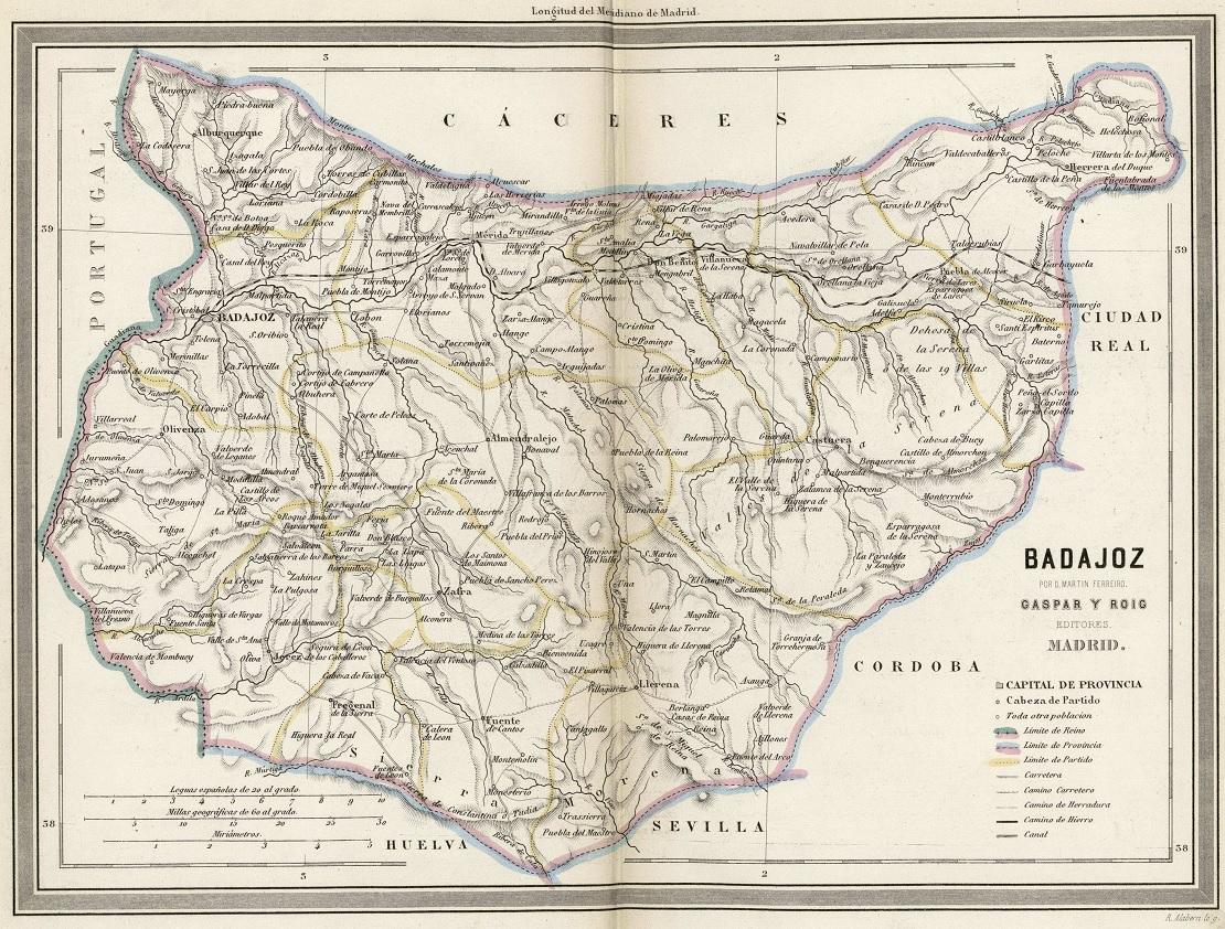 Mapa De Badajoz Capital.File Mapa De Badajoz De Martin Ferreiro Jpg Wikimedia Commons