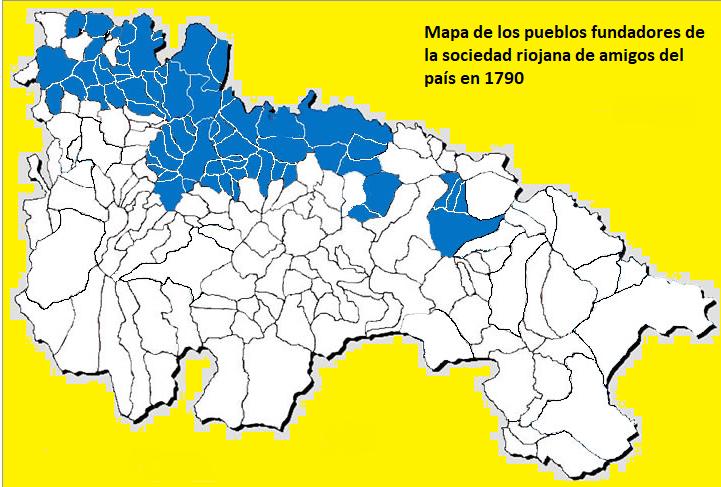 File Mapa De Los Pueblos Fundadores De La Real Sociedad Económica De La Rioja En El Año1790 Png Wikimedia Commons