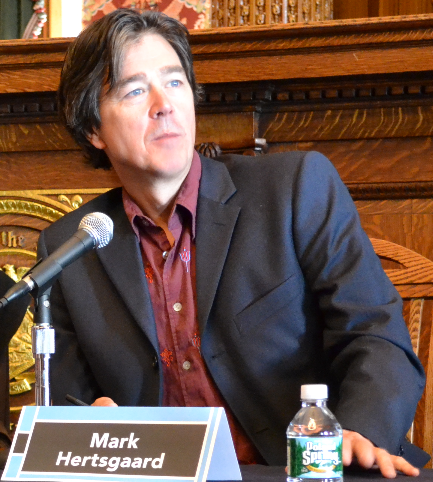 Mark Hertsgaard at the 2011 [[Brooklyn Book Festival