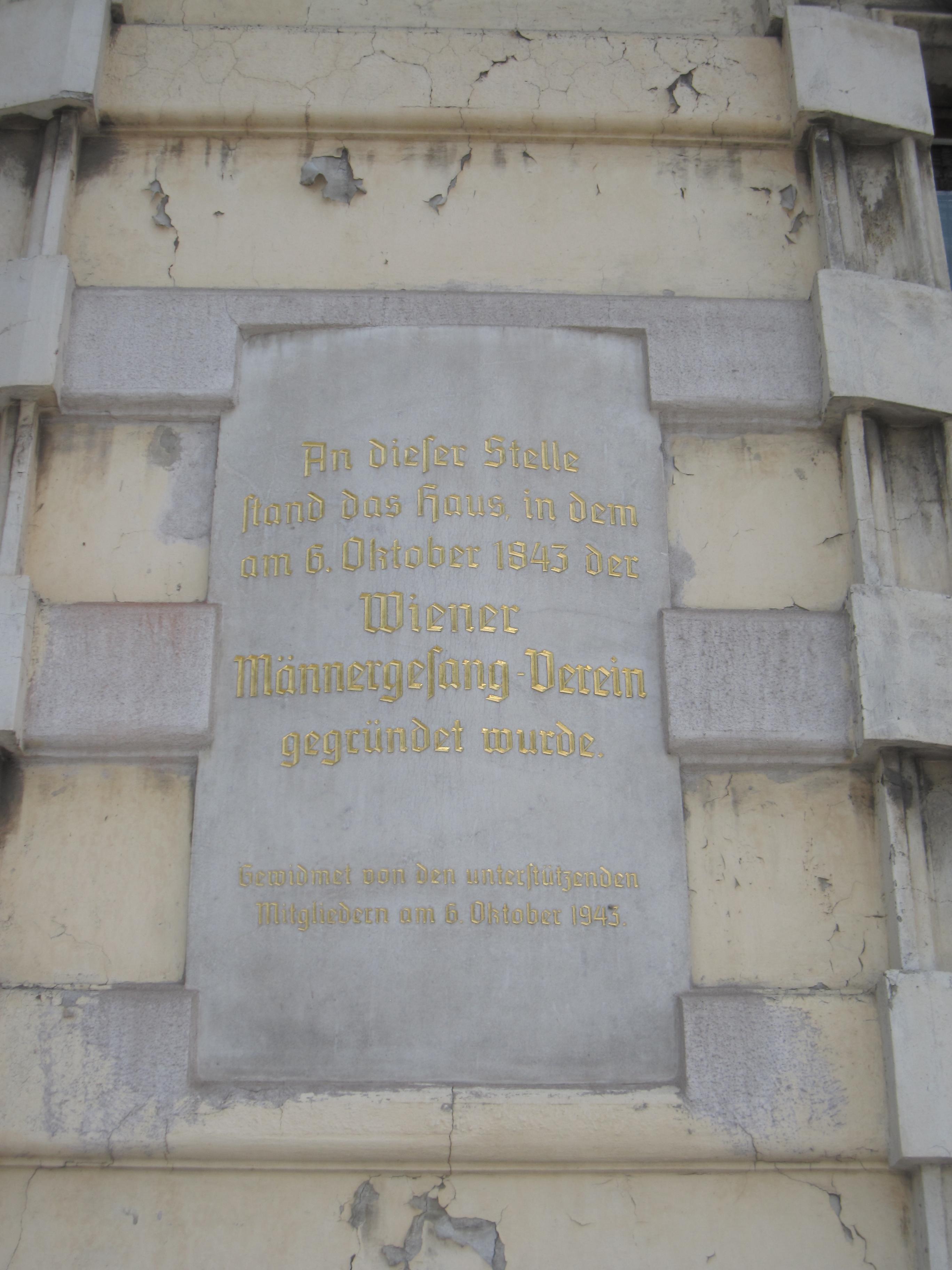 Memorial plaque Wiener Maennergesangs-Verein.jpg