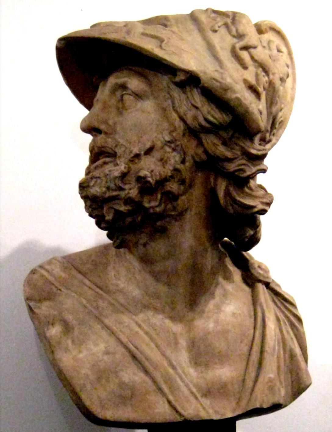 Depiction of Menelao