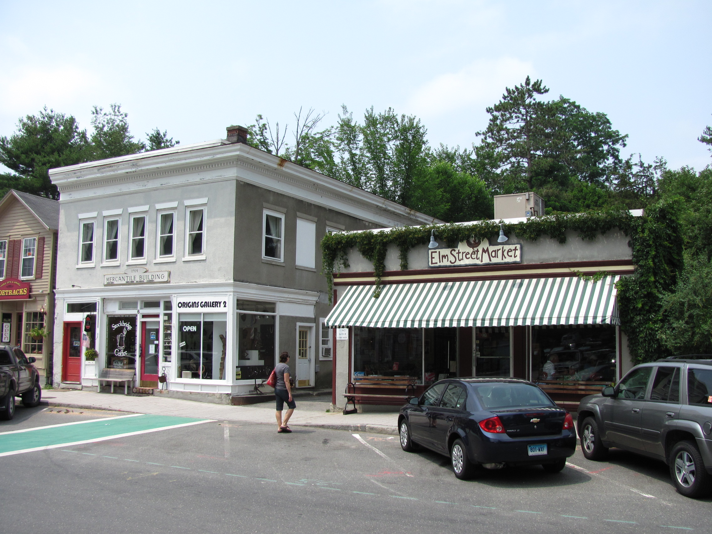 stockbridge massachusetts most creative small towns