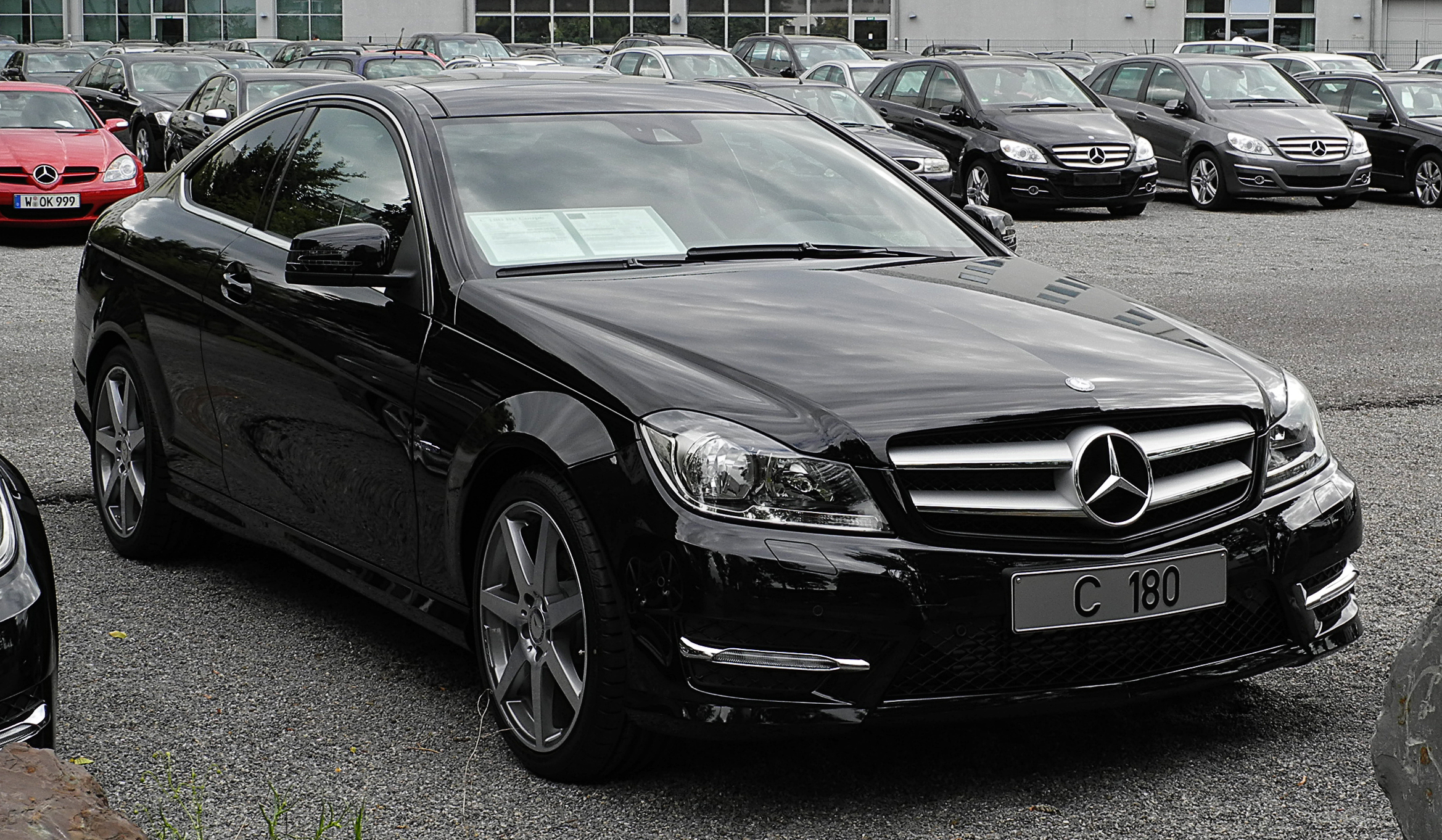 File:Mercedes-Benz C 180 BlueEFFICIENCY Coupé Edition 1 (C 204 ...