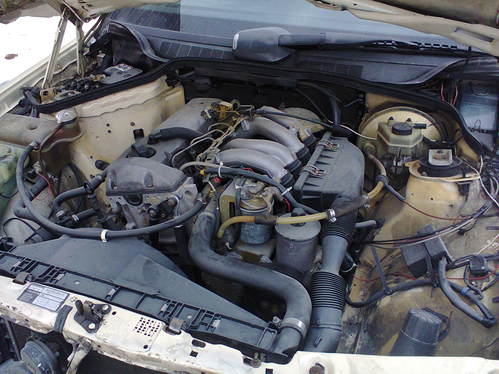 Mercedes benz om604 engine for Motor mercedes benz