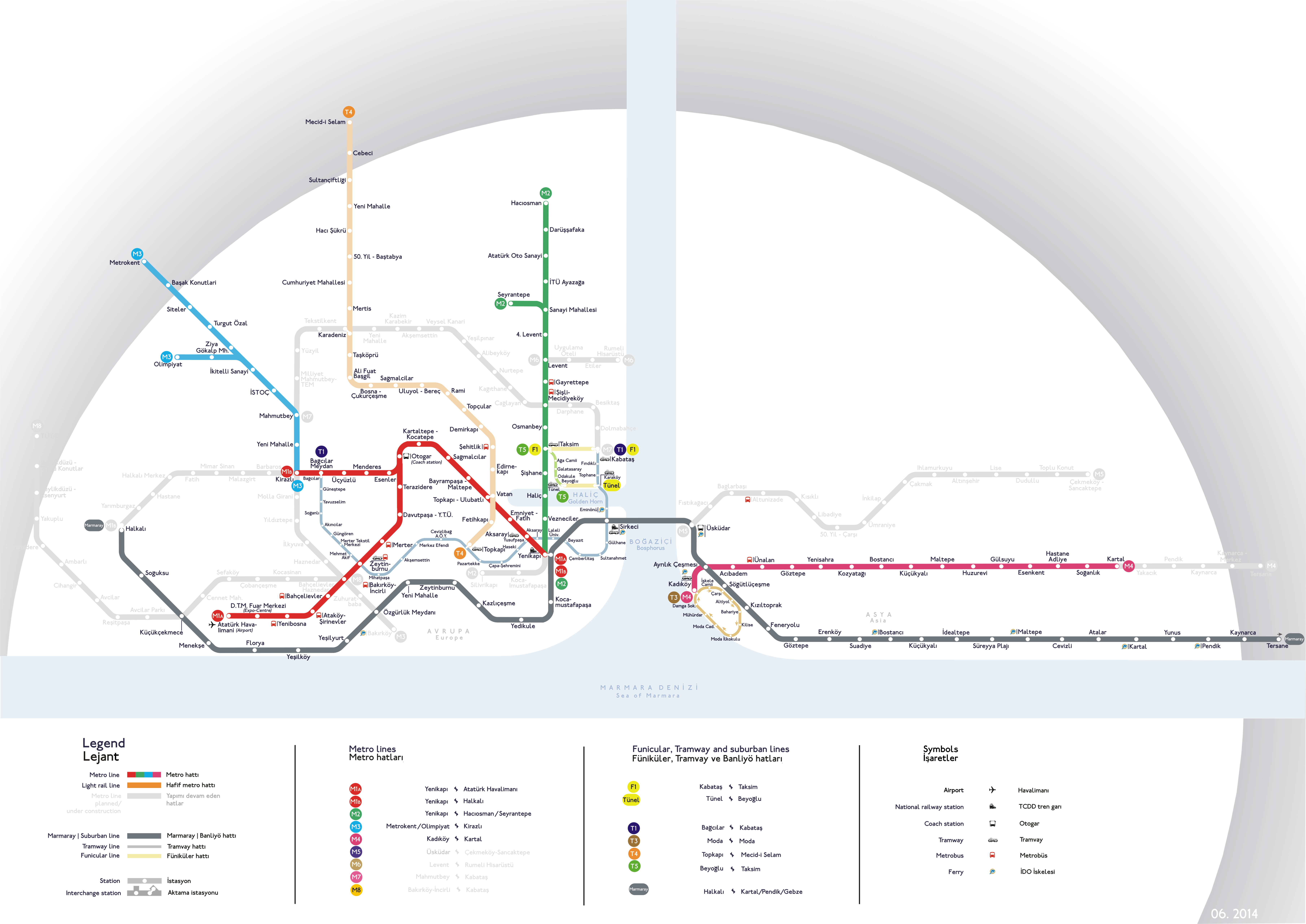 Istanbul Metro 伊斯坦堡 地铁