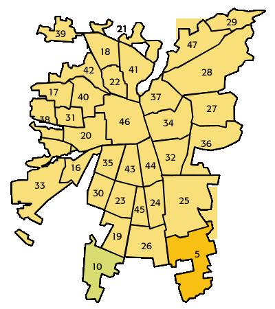 Provincias de la Región Metropolitana