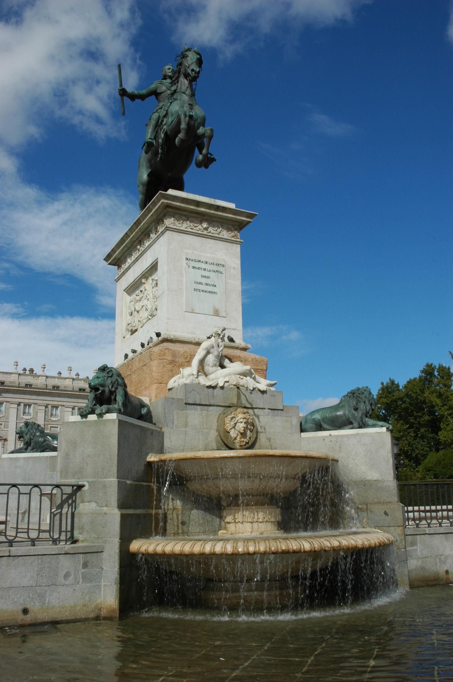 Monumento a Felipe IV - Wikipedia, la enciclopedia libre