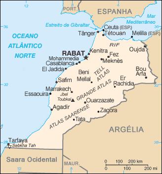 saidia mapa File:Morocco CIA WFB map pt.png   Wikimedia Commons saidia mapa