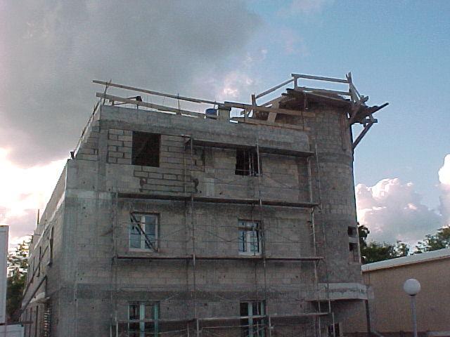 Construction de la mosquée de Vigneux (en 2001)