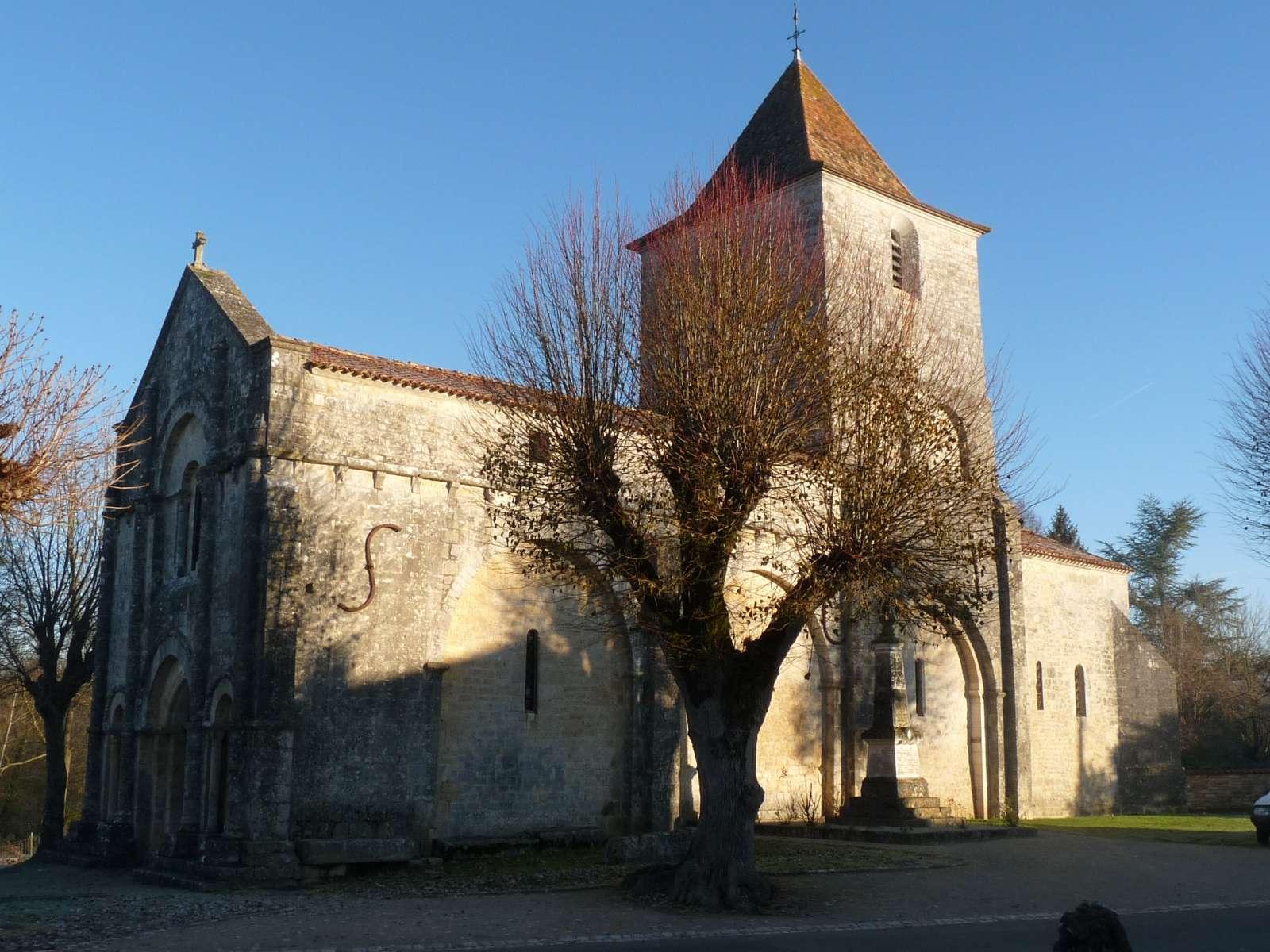 Église Saint-Martial de Mouton