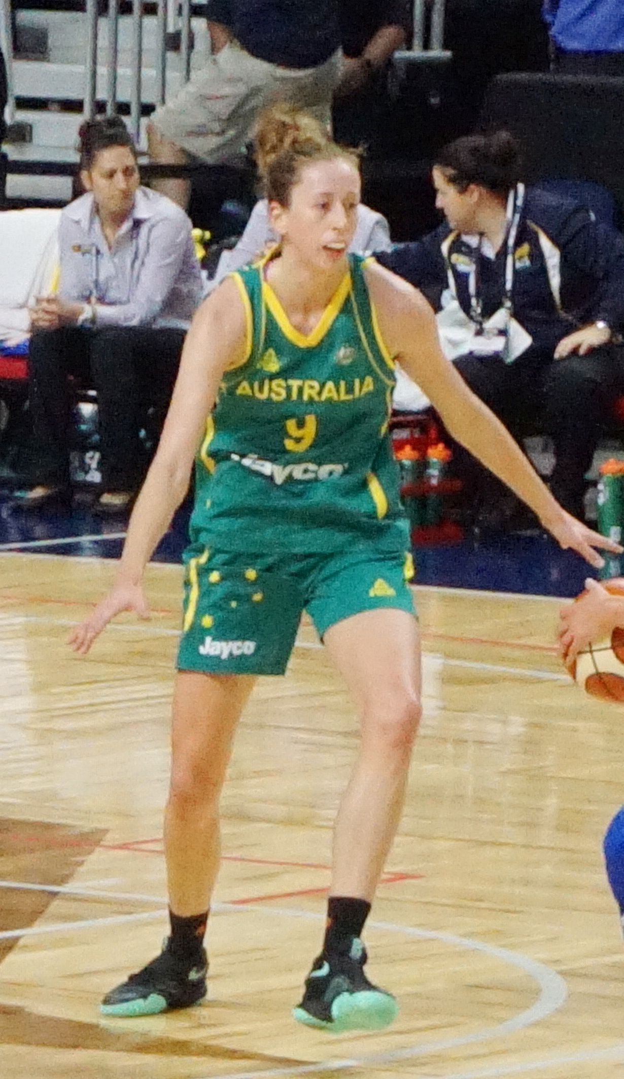 Burton with the Australian Opals in July 2016