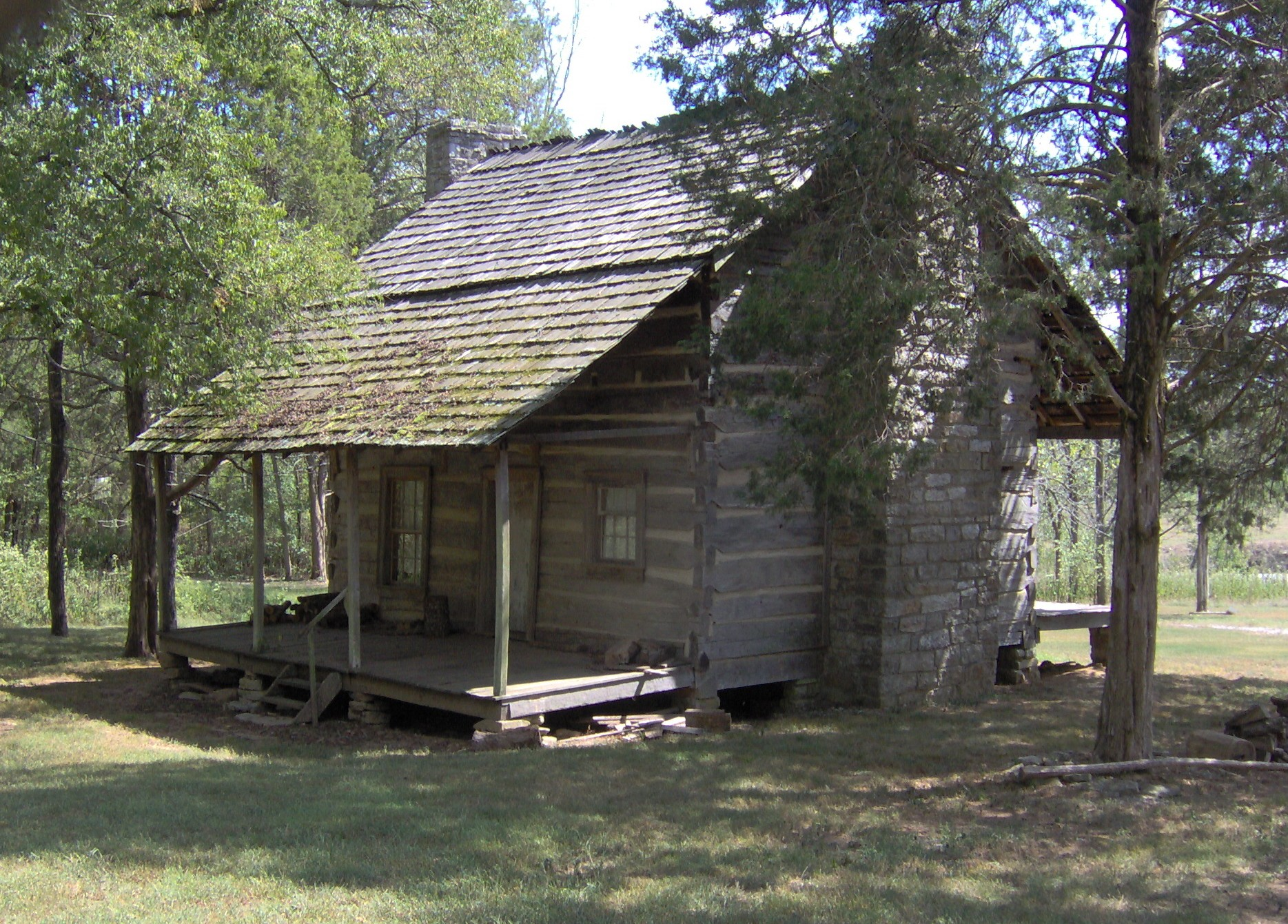 File Nathaniel Parker Cabin Wikimedia Commons