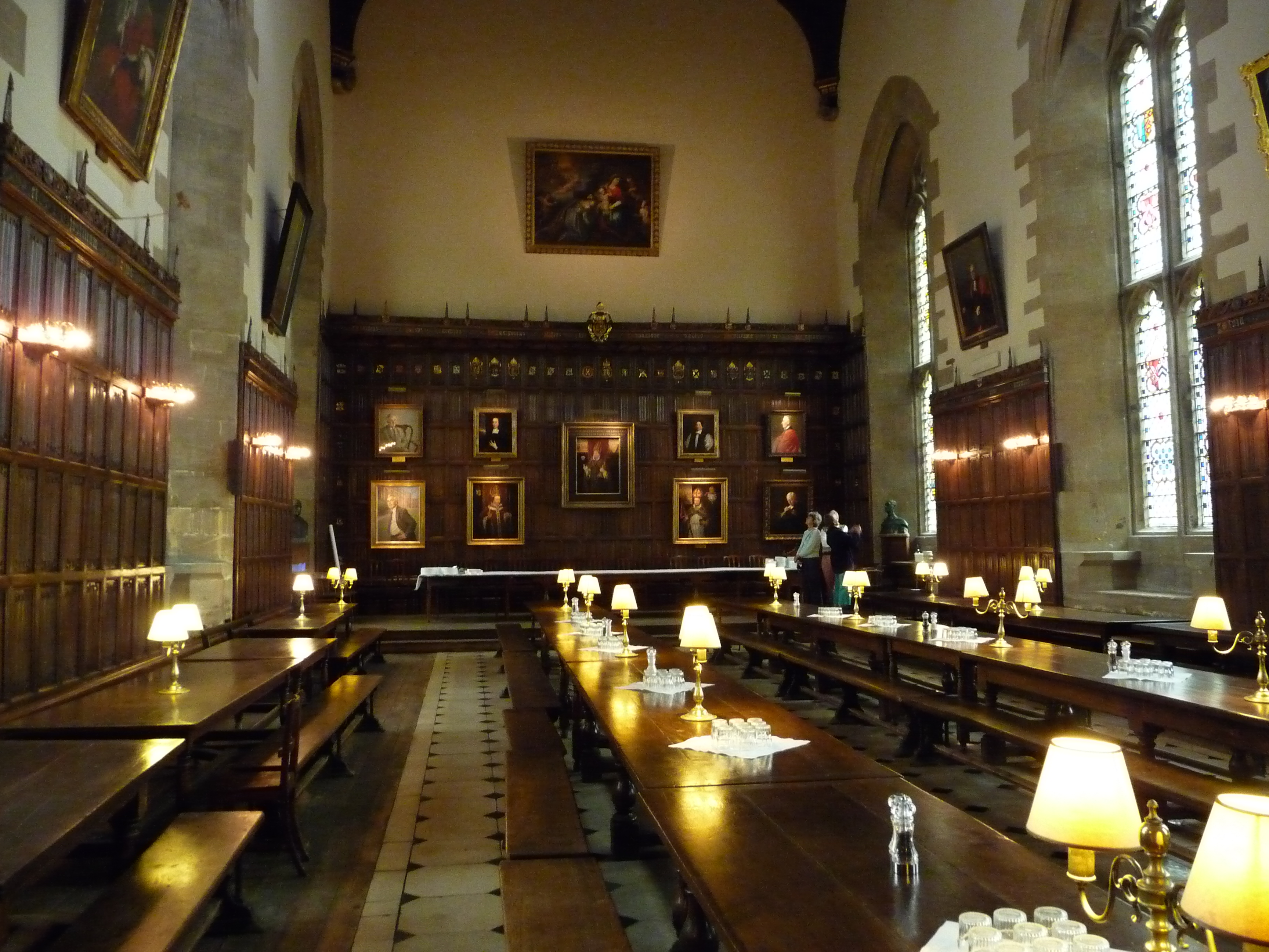 The Dining Hall At Christ Church College Oxford 2048