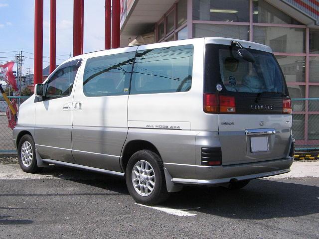 File Nissan Elgrand E50 Rear Jpg Wikimedia Commons
