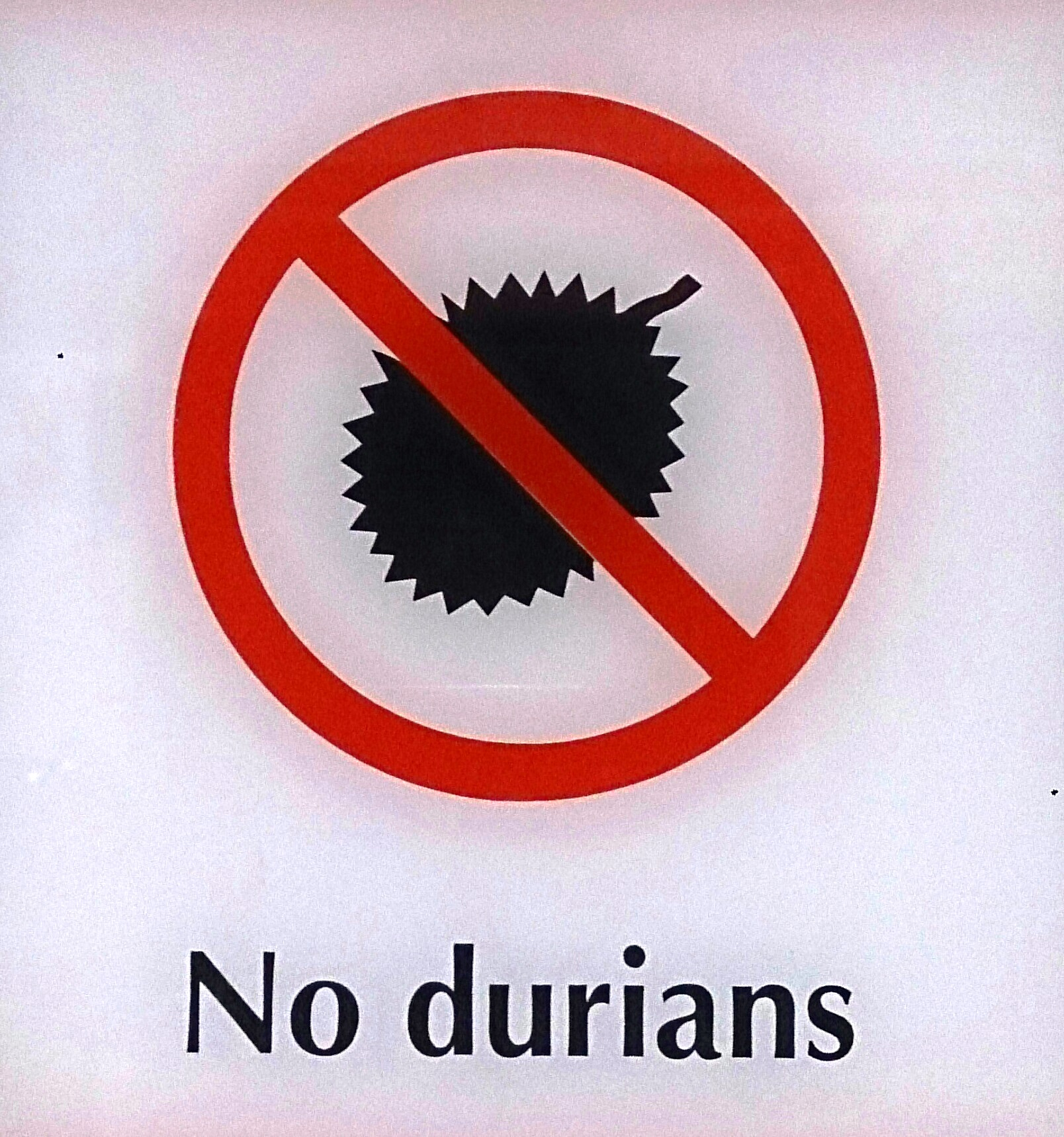 File:No durians sign.jpg - Wikimedia Commons