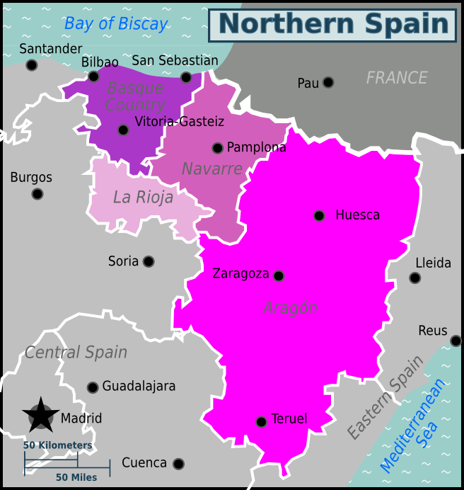 Northern Spain – Travel guide at Wikivoyage