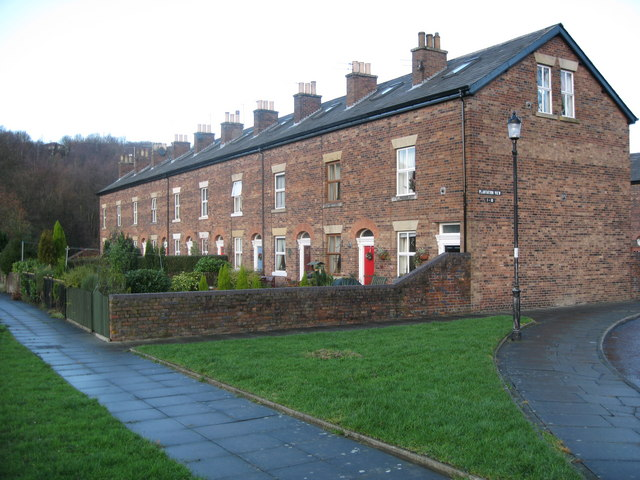 Old Mill Workers Houses at Brooksbottoms - geograph.org.uk - 295026