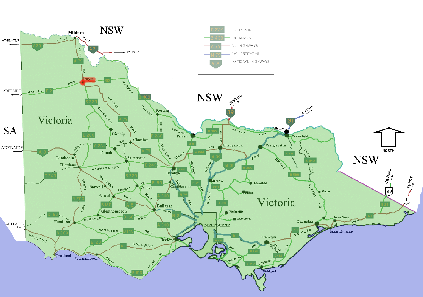 FileOuyen location map in VictoriaPNG Wikimedia Commons – Victoria Australia Map