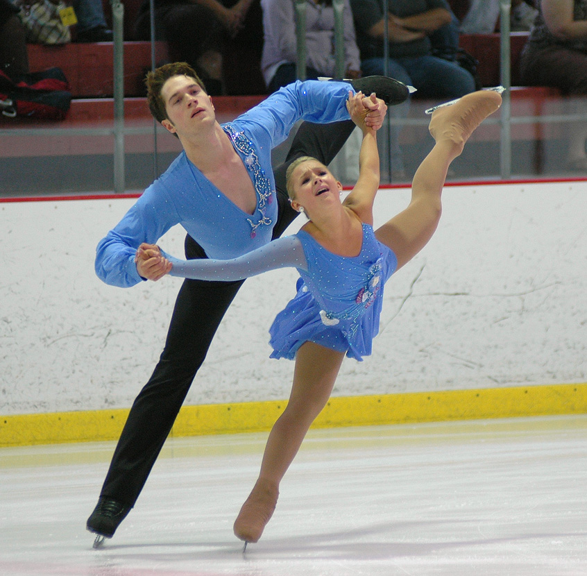 In ice skating, a toe jump taking off from a back inside ...
