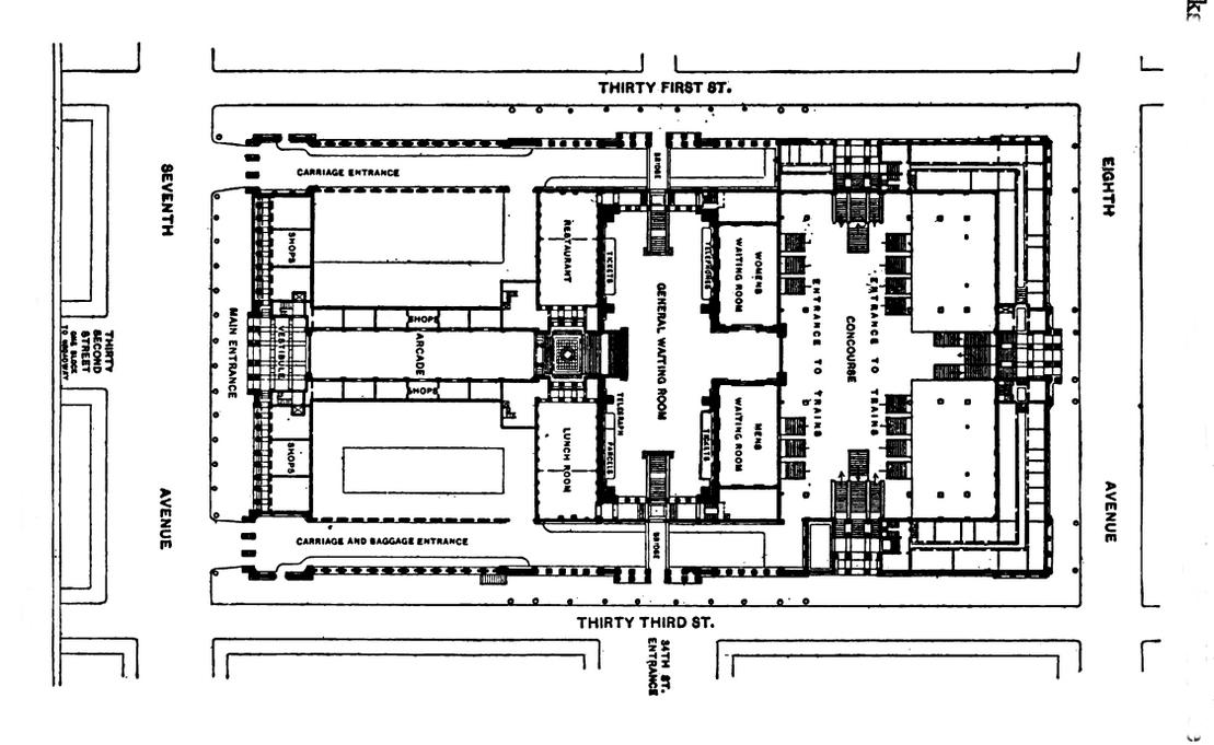 file pennsylvania station new york floor plan jpg