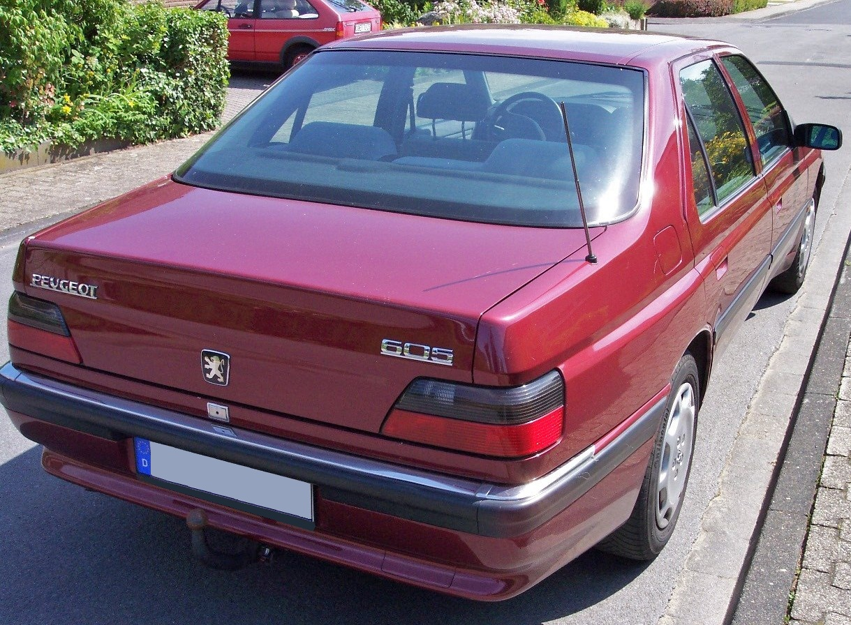 File:Peugeot 605 red hr.jpg