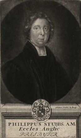 1708 mezzotint of Stubbs by [[John Faber the elder