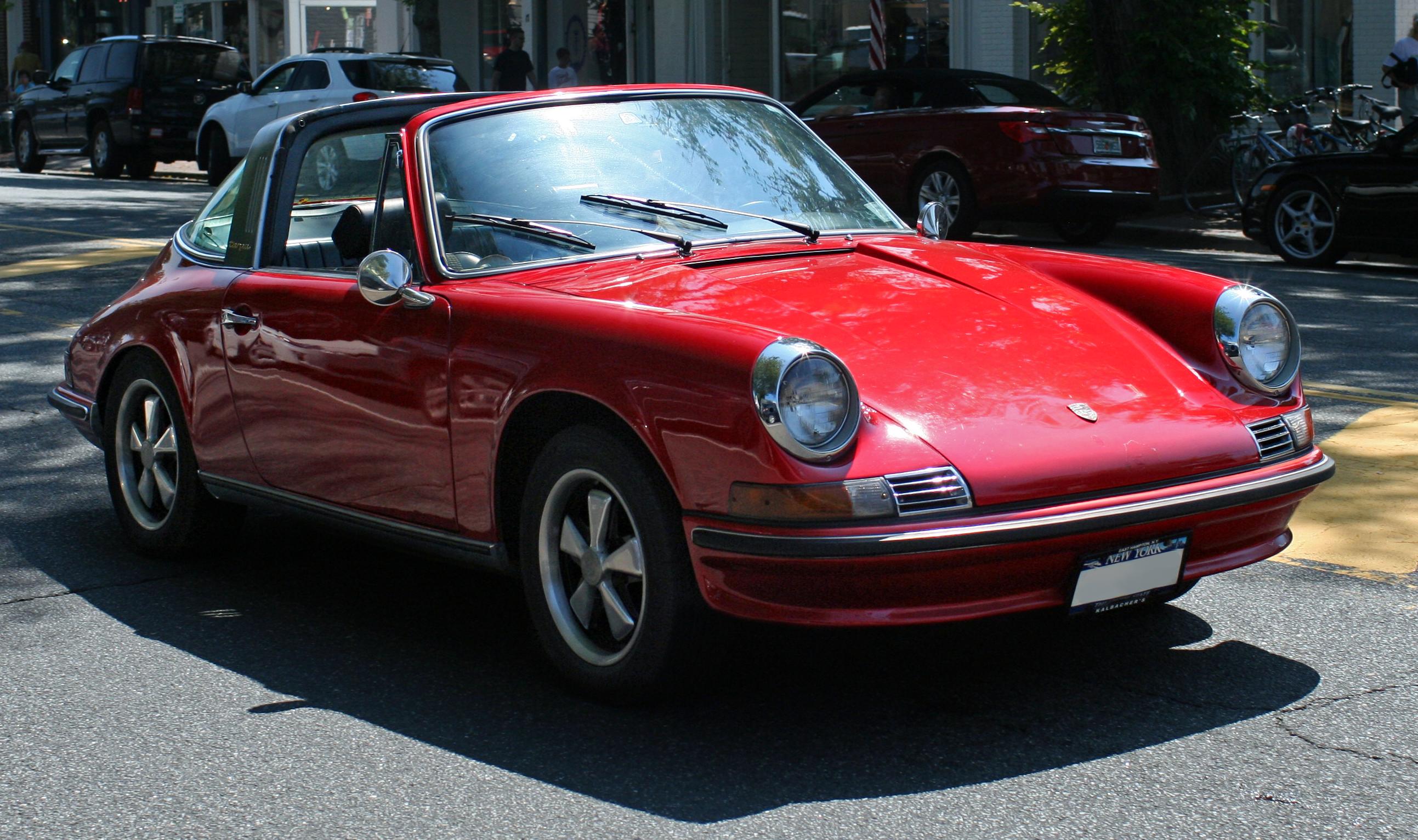 File Porsche 912 Targa Red Jpg Wikimedia Commons