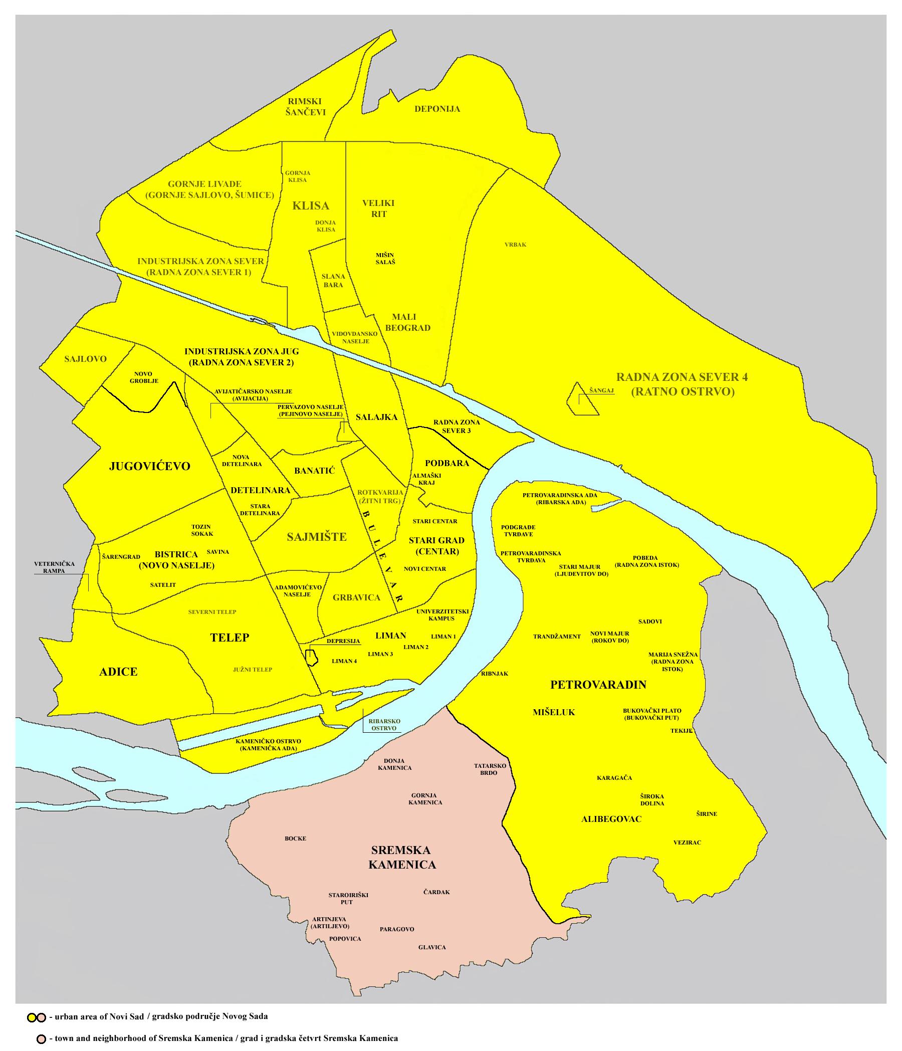 sremska kamenica mapa Popovica   Wikiwand sremska kamenica mapa