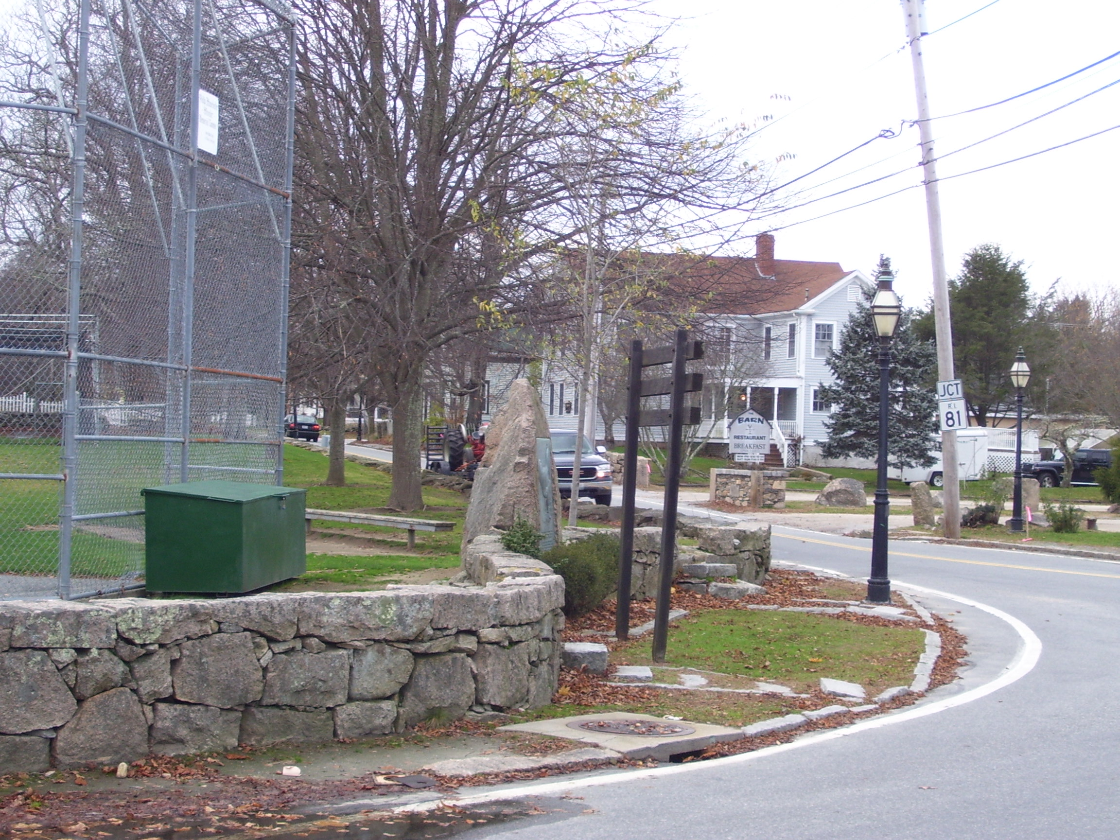 Rhode Island Red Monument