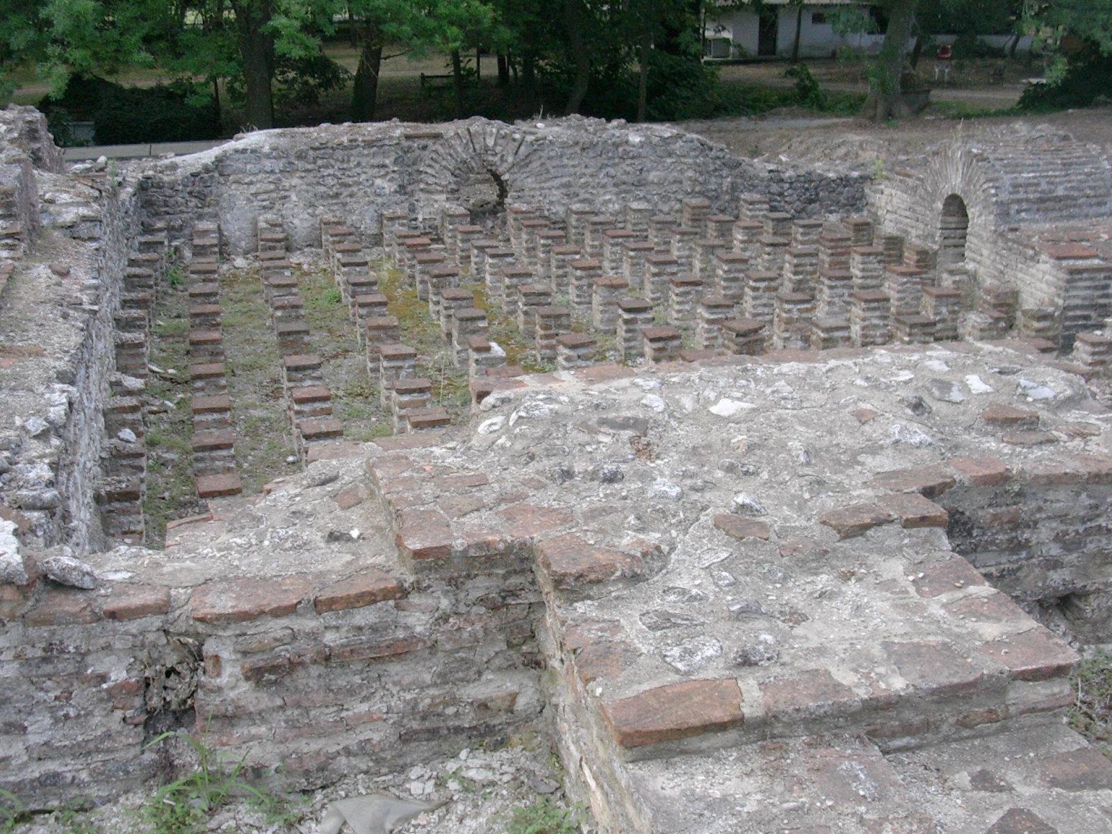 File Roman Public Baths Dion 1 Jpg Wikimedia Commons