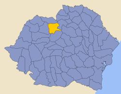 Năsăud County County in Romania