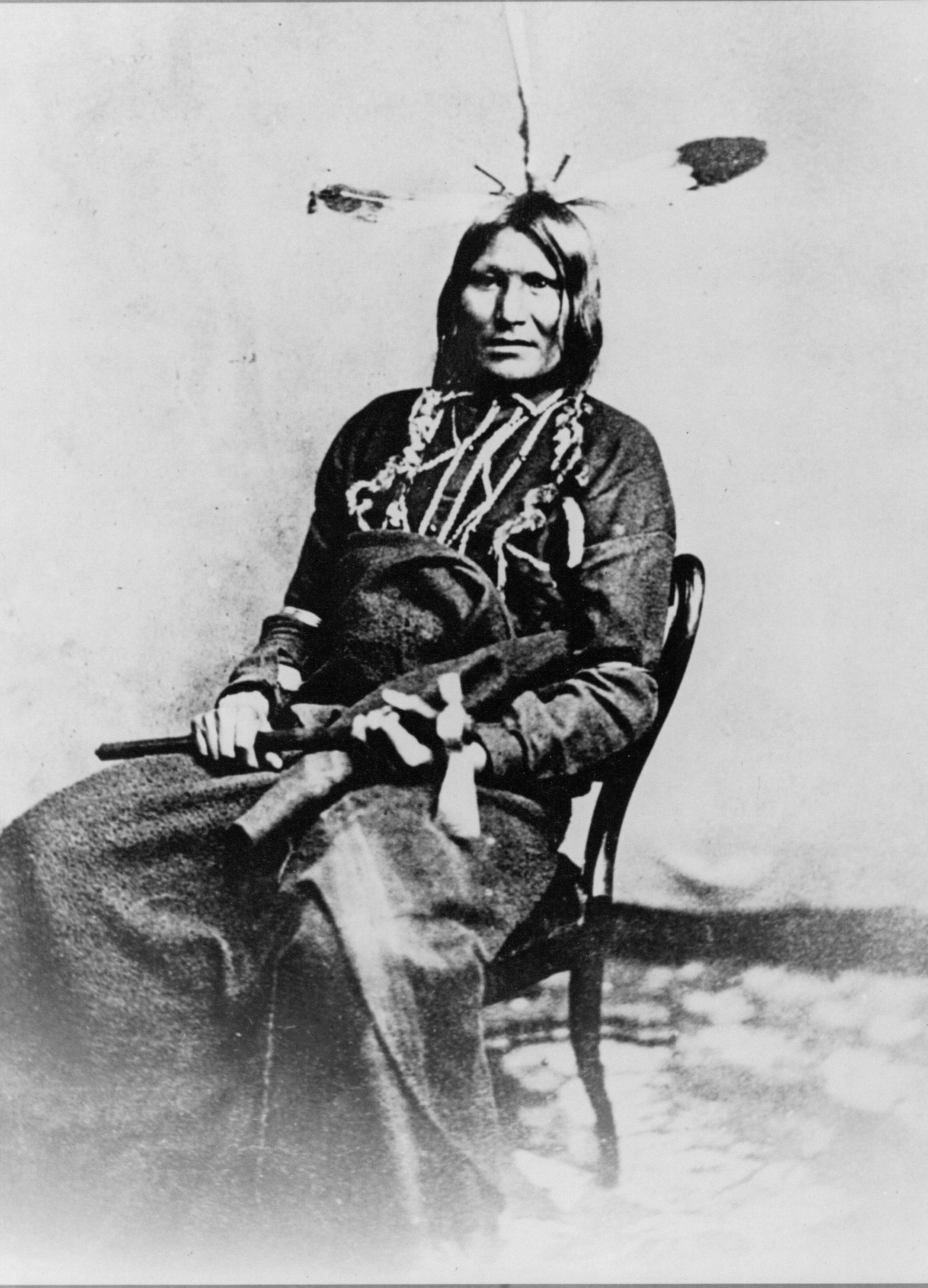File:Running Bull - Yankton Sioux Tribe South Dakota jpg