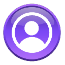 File S4 Purple Person Icon Png Wikimedia Commons