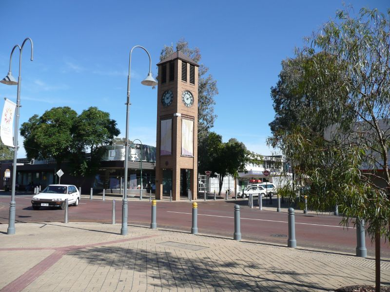 City Centre of Salisbury