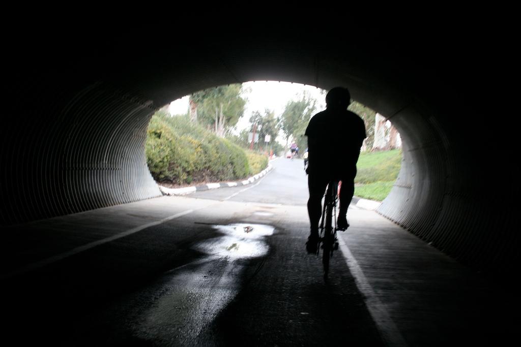 San Diego Creek bicycle path