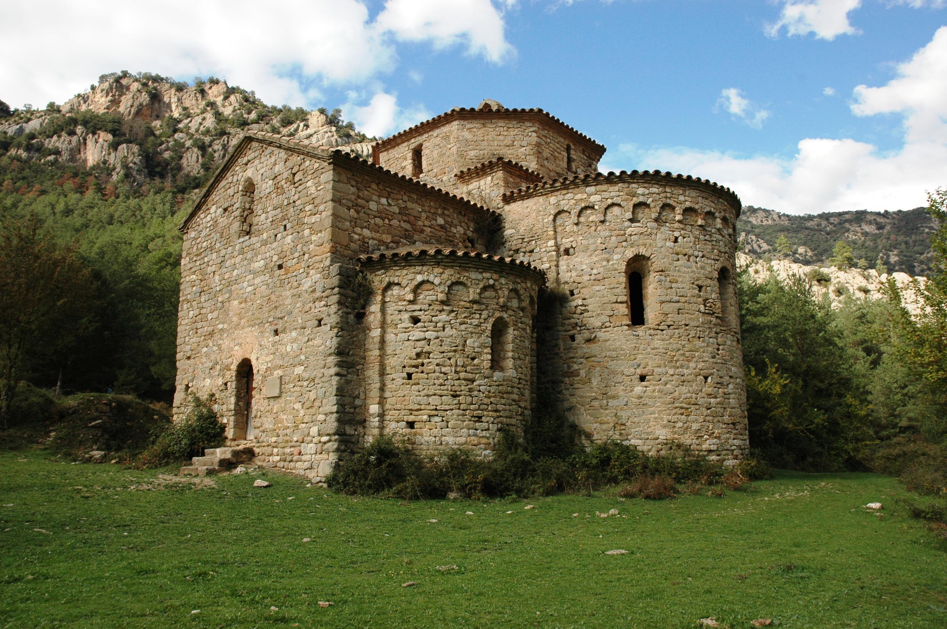 Depiction of Monasterio de Sant Pere de Graudescales
