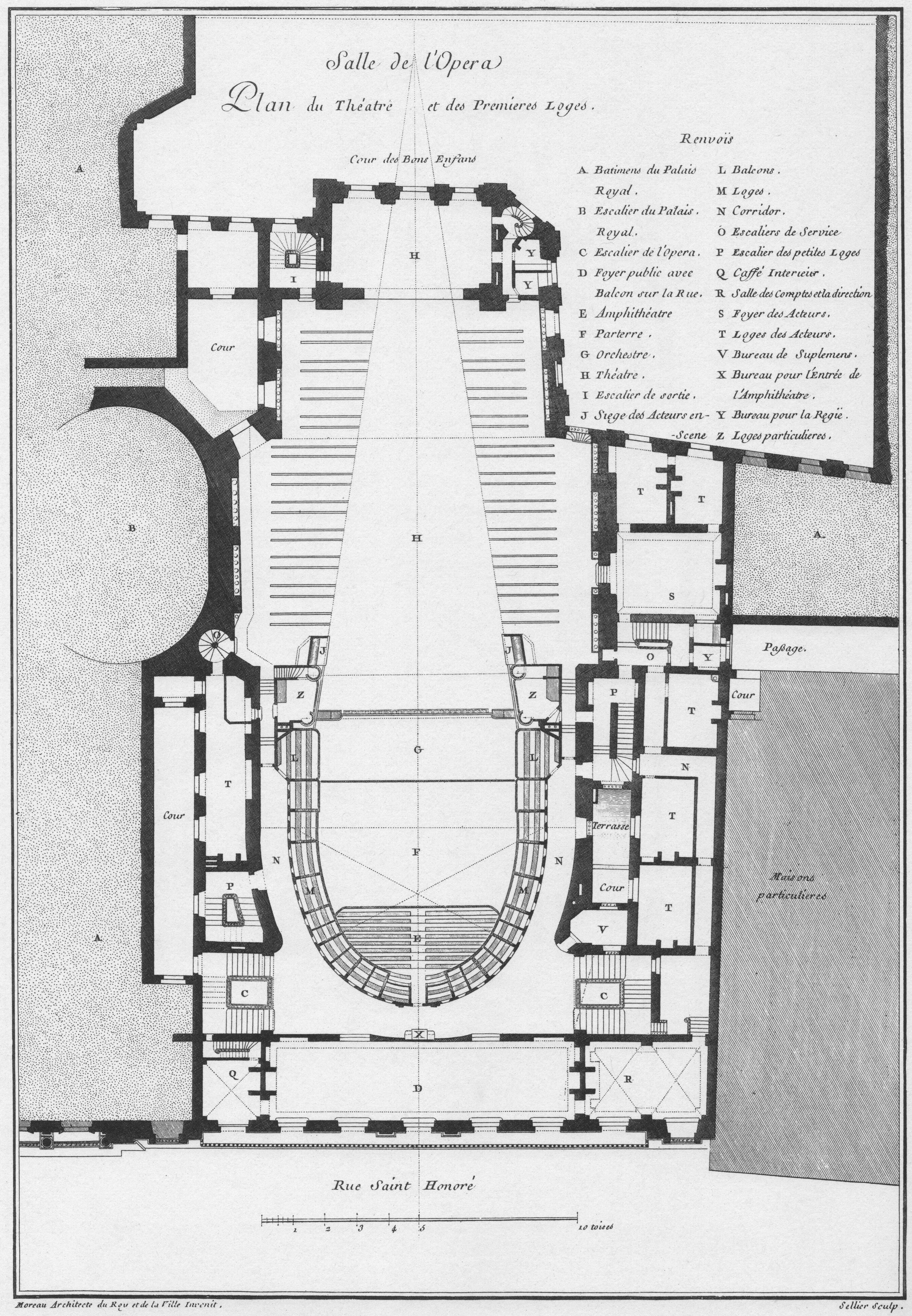 Plan du theatre de la porte saint martin maison design - Plan salle theatre porte saint martin ...