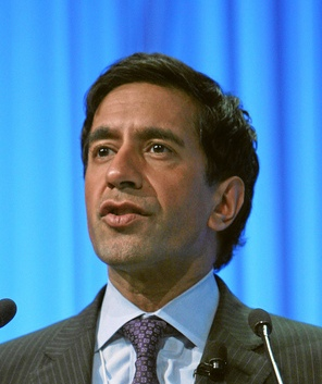 English: Sanjay Gupta, American neurosurgeon