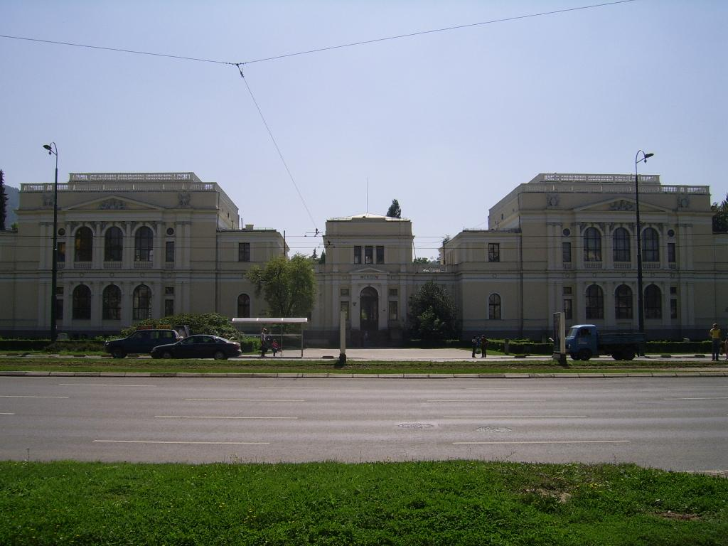 National Museum of Bosnia and Herzegovina, in Sarajevo.