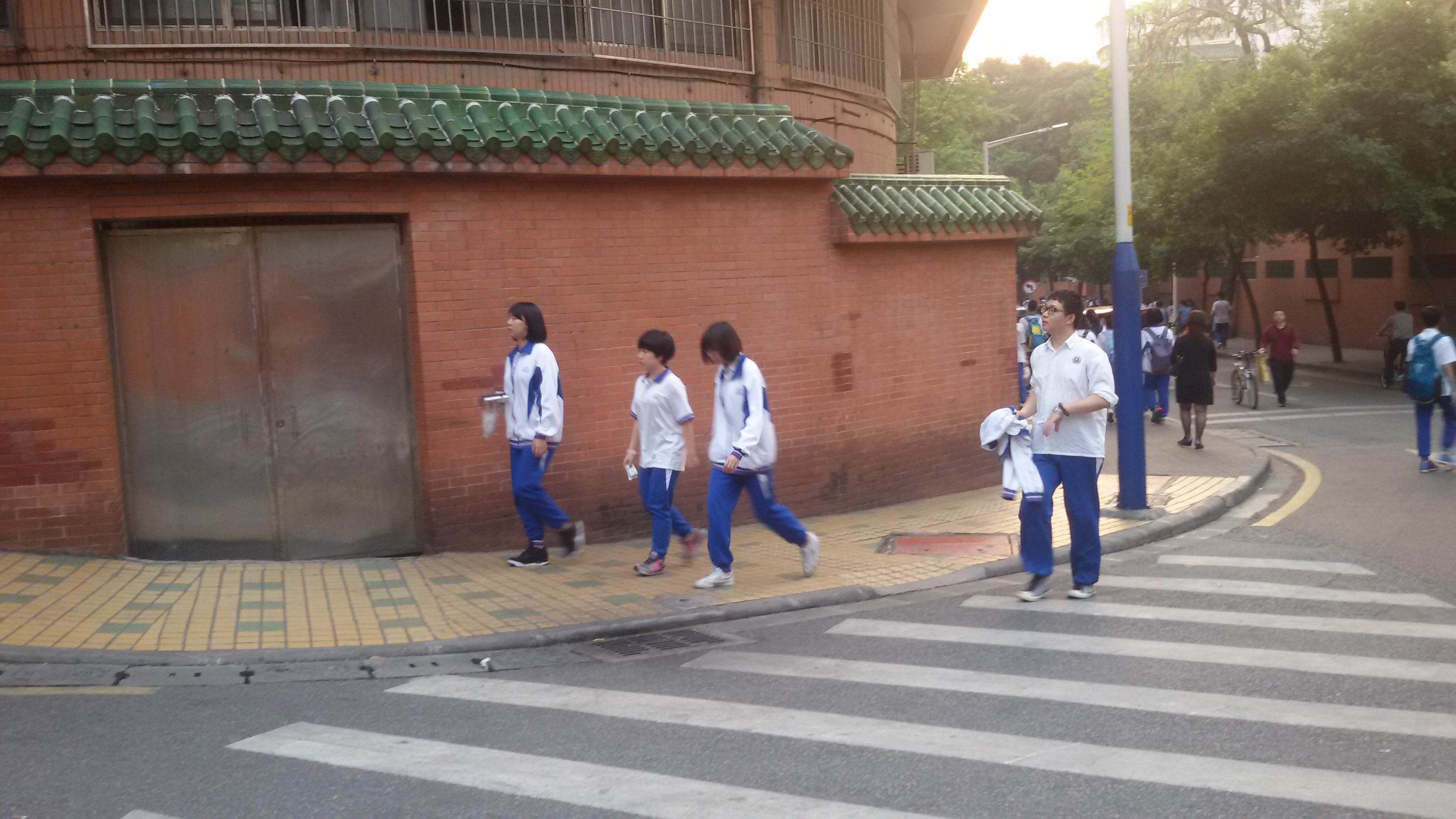 School Uniform FOR PCMS in Canton.jpg 粵語: 廣州市培正中學嘅校服 Date 16 April 2015, 18:18:47 Source Own work Author CRCHF