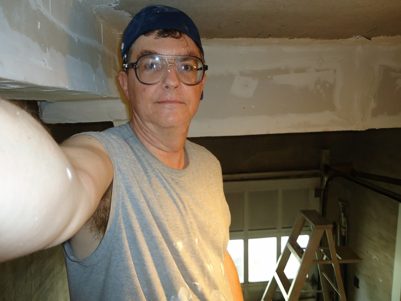 Fileself Photo Of Your Handyman At Work With Eyebrows Out Of