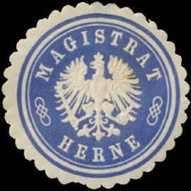 Siegelmarke Magistrat Herne W0392543.jpg