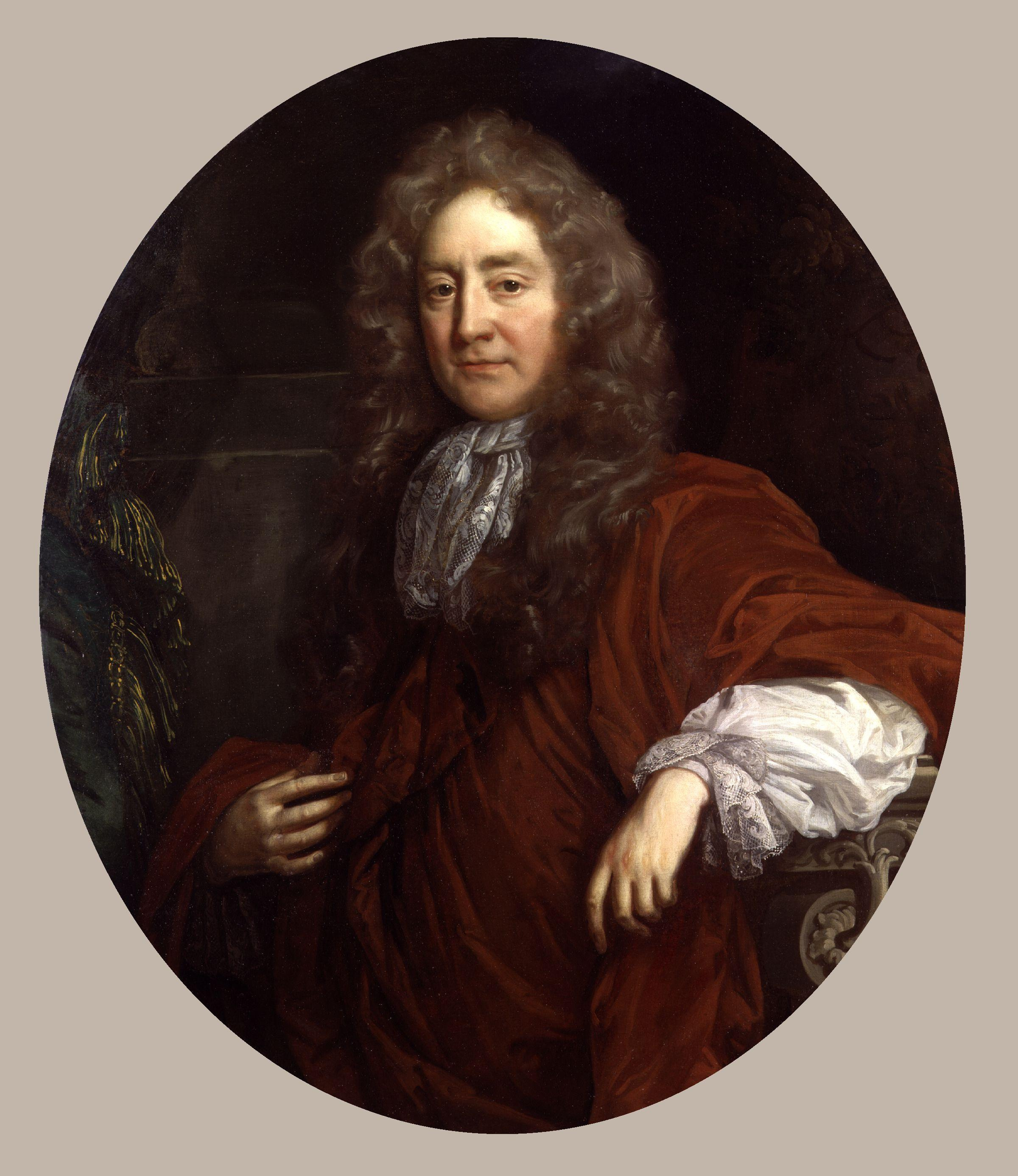 Portrait, oil on canvas attributed to [[John Riley (painter)|John Riley]] (1646–1691), [[National Gallery]] Collections.
