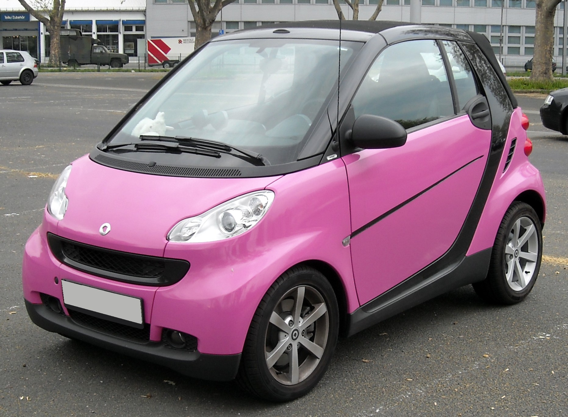 Top Cars Zone: Smart Fortwo Passion Cabrio Car Wallpapers