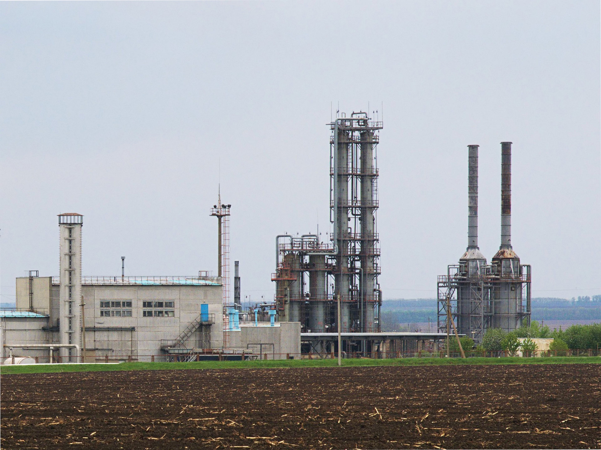 File Solohiv natural gas plant fragment Wikimedia mons