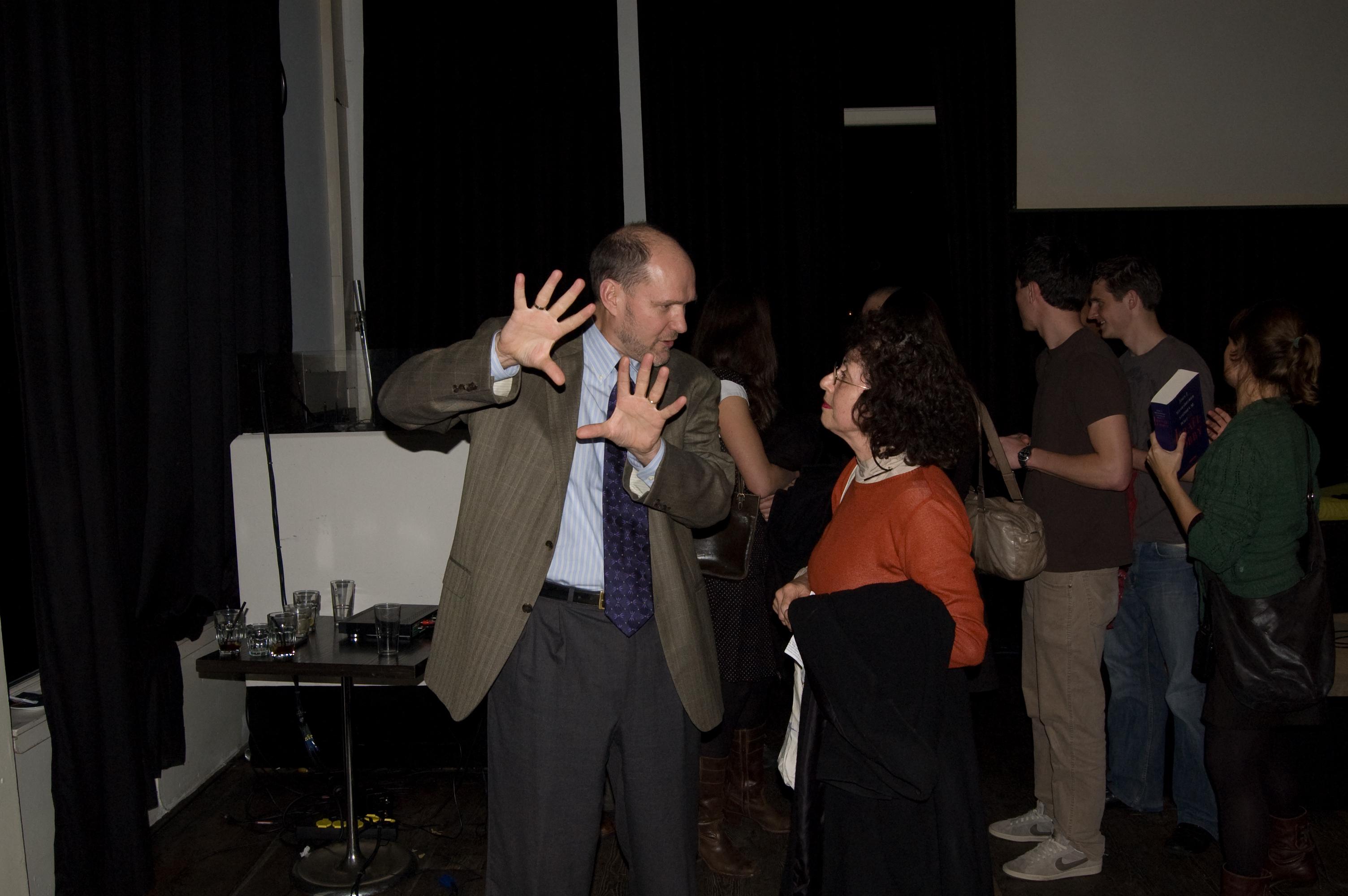 Stephen Walt (left), 2007