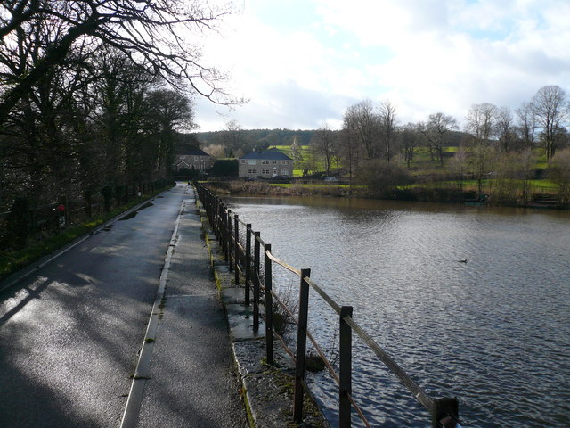 Stubbing Great Pond - View towards Malthouse Lane - geograph.org.uk - 320125