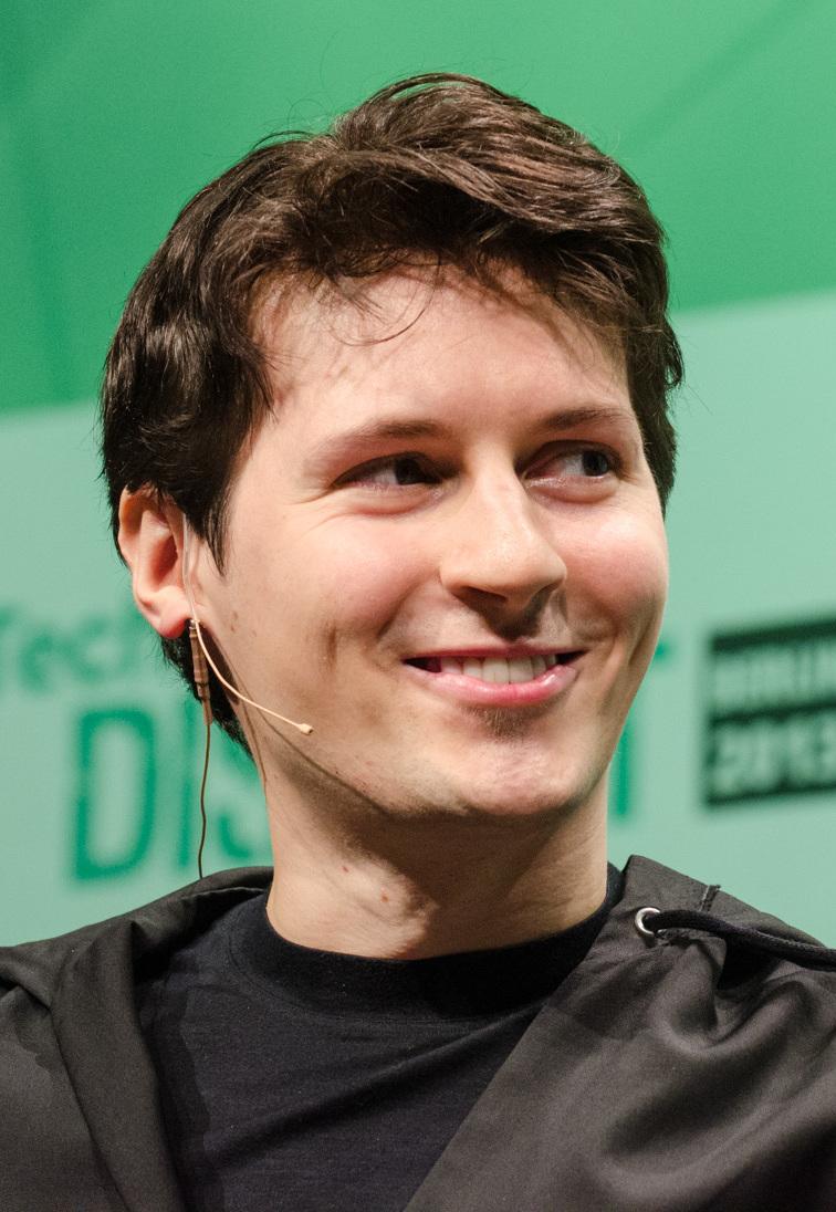 Veja o que saiu no Migalhas sobre Pavel Durov