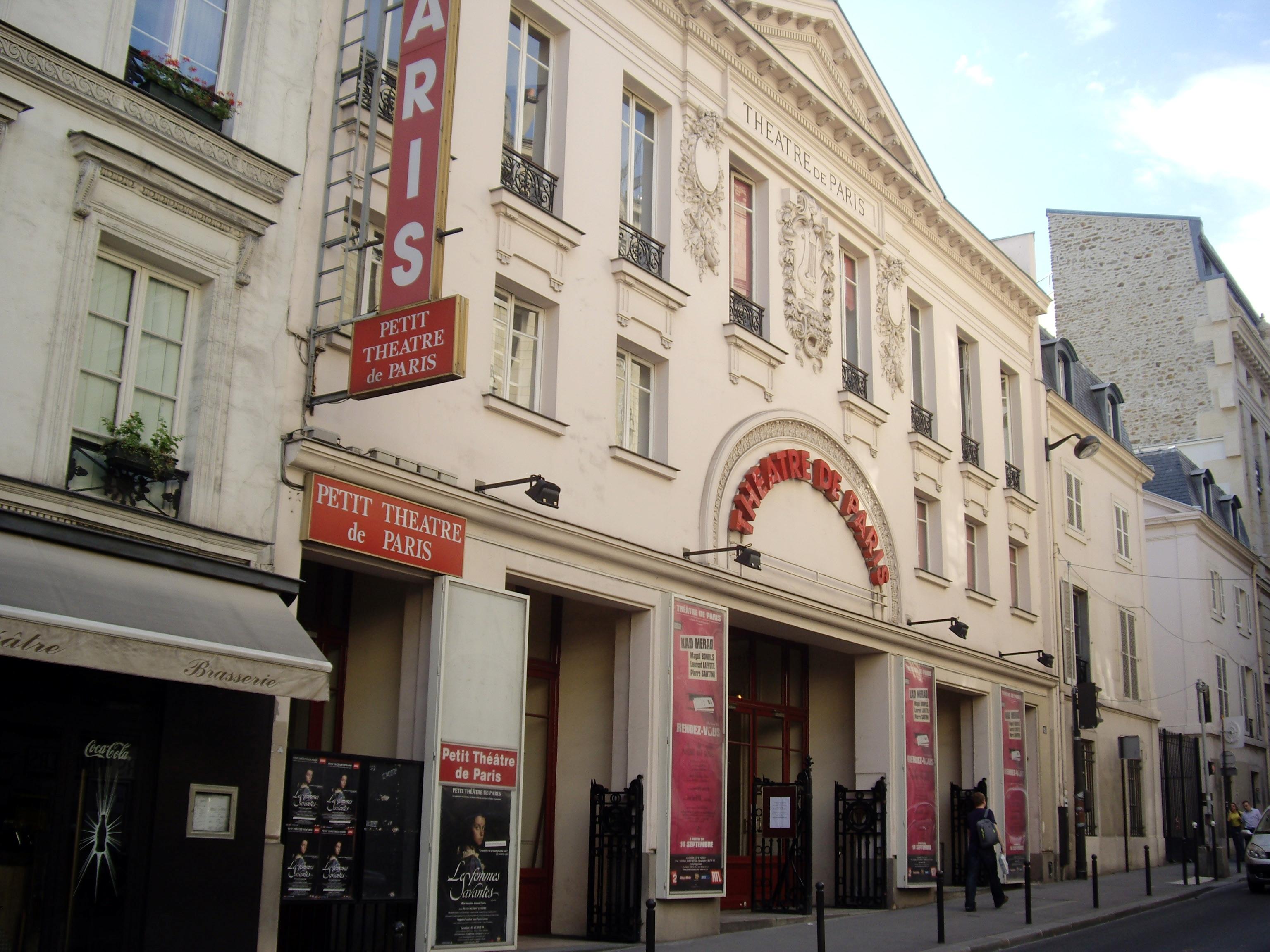 Théâtre de Paris, 15 rue Blanche, Paris 9.jpg - 123 Serrurier Paris 9