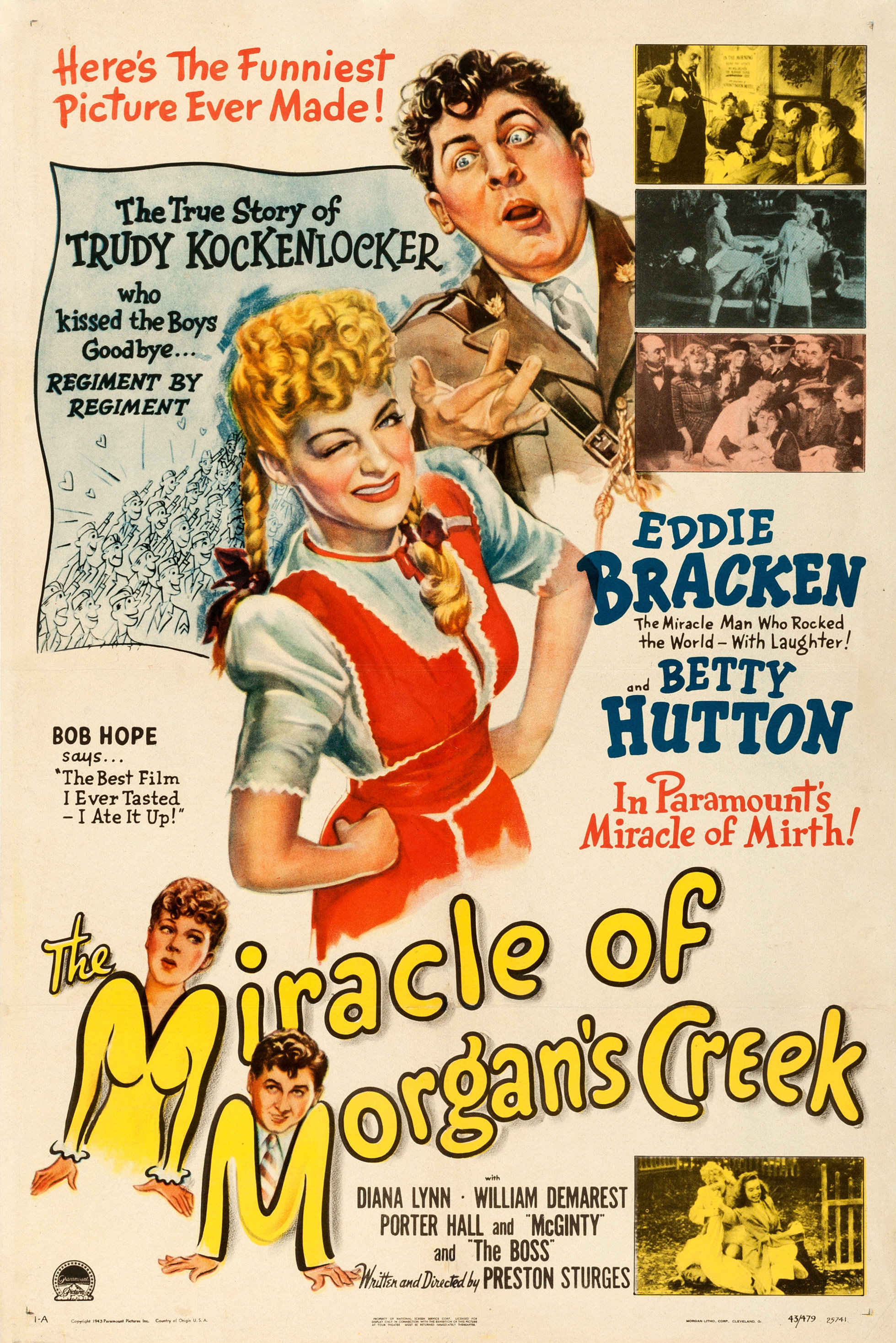 The Miracle of Morgan's Creek - Wikipedia